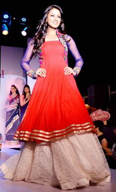 Barkha Bisht walked the ramp at the launch of a fashion website. #Bollywood #Fashion #salwaar kameez #chudidar #chudidar kameez #anarkali #anarkali suits #dress #indian #hp #outfit #shaadi #bridal #fashion #style #desi #designer #wedding #gorgeous #beautiful