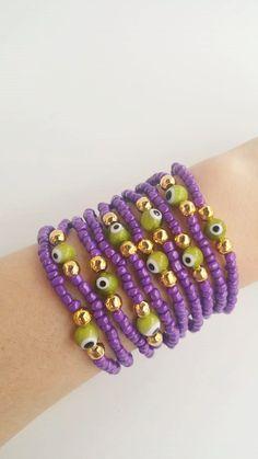 Stacking jewelry  Friendship Bracelets  Boho Chic by TresJoliePT
