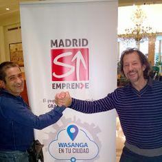 Guillermo Gagliardi y Antonio Zambrano en Madrid emprende. Haz Click Ahora: http://www.antoniozambrano.com/wasangasecret