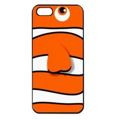 Nemo Nemo is a case designed for smart phones. It has a simple design but is attractive enough to personalize your smart phone. It will fit into your iPhone 4/5, iPod touch 4/5 as well as your Galaxy S 3/4. With its orange and white stripes this smart phone case becomes a nice looking one that anyone will love to have on his or her smart phone in order to provide it with good looks.