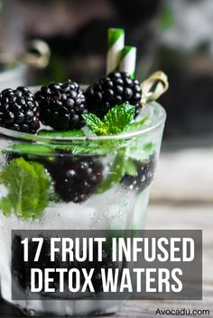 17 Fruit Infused Detox Water Recipes | Avocadu.com