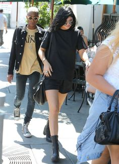 July 10, 2014- Kylie Jenner at Urth Caffe in West Hollywood.