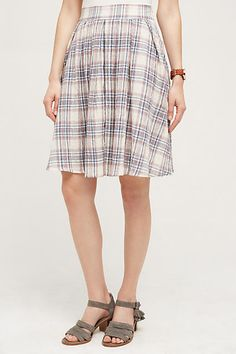First Semester Skirt - anthropologie