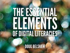TEDx Warwick: The Essential Elements of Digital Literacies by Doug Belshaw via slideshare