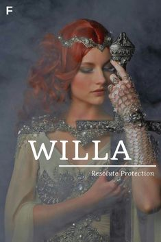 Willa, meaning Resolute Protection, German names, W baby girl names, W baby names, female names, whimsical baby names, baby girl names, traditional names, names that start with W, strong baby names, unique baby names,
