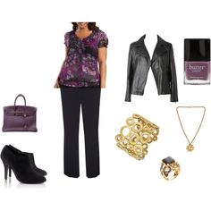 A fashion look from October 2011 featuring East Fifth cardigans, Ann Harvey pants and H&M ankle booties. Browse and shop related looks.