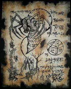 cthulhu larp Necronomicon Fragment SARNATH DEMONS www.stella-stroy-dv.ru