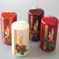 Vánoční • svíčky