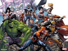 Marvel Universe by Mark Brooks
