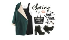 """""""spring up {contest}"""" by hyeyeong ❤ liked on Polyvore featuring Monki, Chicnova Fashion, Charlotte Russe, Yves Saint Laurent, PBteen and Linda Farrow"""
