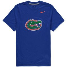 buy online d6e1a aa150 Youth Nike Royal Florida Gators Logo Legend Dri-FIT T-Shirt