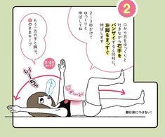 """(画像 4/ 5)適度な運動をすることで自分の理想体型に近づく""""筋トレ女子""""が話題になっています。お腹周りのダイエットには腹筋が最適解!…と思い込んでいませんか?それ、実はもう古いんです。とがわ愛さんの『はじめてのやせ... Fitness Diet, Yoga Fitness, Health Fitness, Constipation Remedies, Makeup Training, Health Diet, T 4, Get In Shape, Fun Workouts"""