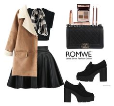 """Romwe"" by miray-yavuzcan on Polyvore featuring interior, interiors, interior design, home, home decor, interior decorating, adidas Originals, American Eagle Outfitters, Chanel and Charlotte Tilbury"
