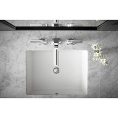 KOHLER Verticyl Vitreous China Undermount Bathroom Sink with Overflow Drain in White with Overflow Drain-K-2882-0 - The Home Depot