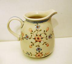 Polish Pottery Ceramika Artystyczna Pitcher Handmade in by ELDees