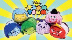 Disney Pixar Inside Out Tsum Tsum Plush Toys Joy Sadness Disgust Anger Fear Bing Bong Inside Out Toys, Joy And Sadness, Bing Bong, Disney Pixar, Disney Characters, Rainbow Toys, Pikachu, Tsum Tsums, Plush