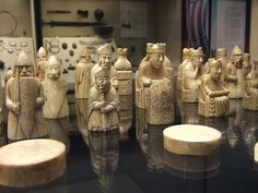 Lewis Chessmen, British Museum, London