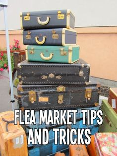 It's October and that means its time for a trip to the Nashville Flea Market. It's no secret I love this place.       Check out my p...