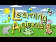 Learning Animals  #Educational #Kids #Animals #Video #Toddlers