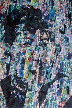 """""""Menschen, an denen nichts auszusetzen ist, haben nur einen Fehler, sie sind uninteressant."""" Zsa Zsa Gabor, B-Movie-Diva  """"Audrey Hepburn"""" Mischtechnik: Tusche und Fotomanipulation von Jörg Schubert """"Audrey Hepburn"""" Mixed media: ink and photo manipulation by Jörg Schubert  #art #kunst #portrait #mischtechnik #mixed #media #fotomanipulation #frau #woman #ink #tusche #glitch #pop #audrey #hepburn #moderne #blog #bilder #nrw #kuenstler #zitate www.chanceforum.de"""