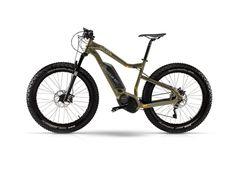 "Haibike Xduro FatSix RC -16 45cm 26"", sort/lime, 500Wh Fat Bike, Bottom Bracket, Bicycle, Sport, Control Panel, Trek, Lime, Mountain, Outdoors"