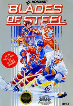 Blades of Steel  I typically hate sports games. But I do make an exception with this one. Great controls, it even has speech in the game.