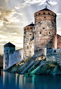 Fortress of Savonlinna, Finland