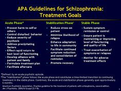 Long-term Management of Psychotic Disorders: Road to Reintegration: Antipsychotic Pharmacotherapy: Recent and Ongoing Trials