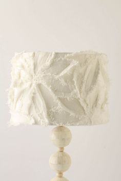 """Bold-blooming petals rise from a slubby cotton-covered drum. - Hardbacked - Cotton - Medium: 8.5""""H, 12"""" diameter - Extra-Large: 11.5""""H, 18"""" diameter - Imported"""