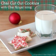 Chai Cut Out Cookies