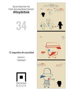 "#VinylArthink contest  entry 34    ""12 segundos de oscuridad""    based on:   ""Soledad""    #arthinkeditions #arthink #contest #entry #art #illustration #12 #seguidos #de #oscuridad #soledad"