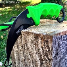 Tactical Combat Karambit Neck Knife Survival Hunting Bowie Fixed Blade Sheath | eBay