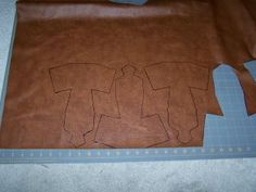 tusken_bandolier_template5 Tusken Raider, Raiders, Costumes, Leather, Dress Up Clothes, Fancy Dress, Men's Costumes, Suits
