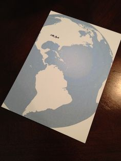 Customizable map invitations for a Welcome to the World baby shower - put city on baby's hometown or city of shower!  Welcome to the World Baby Shower – Boy Baby Shower – Globe, Map, World, Travel – Unique Baby Shower Themes – Welcome to the World Decor, Welcome Baby to the World