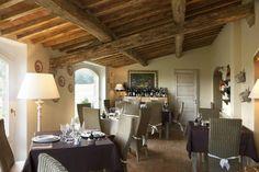 Old Fashioned Hotel in Castioglioncello Bandini, Tuscany, Italy