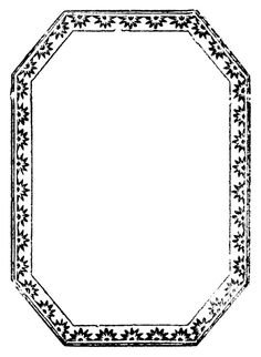 octagonal pattern with starbursts, 1840:    http://lilac-n-lavender.blogspot.com/2012/02/morning-glory-clip-art-printable.html