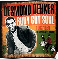 """fantastic collection of singles and album tracks spanning the ska to early reggae era from master songwriter desmond dekker. listen to """"young generation. Ska Music, Reggae Music, Jamaican Music, Rude Boy, Motown, Me On A Map, Musical, Music Bands, The Rock"""