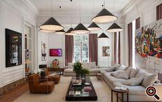 Moderne Wohnzimmer einrichten - Ideen, Deko, Wandbilder & Tisch