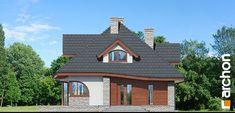 Dom w zefirantach 5 (P) Front elevation house design in zephyrants 5 p 264 Front Elevation, Home Fashion, Diy Design, House Design, Cabin, House Styles, Classic, Home Decor, Ideas