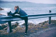 Don't forget to stretch before you go running!