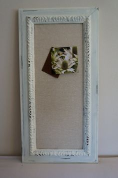 Items similar to Blue Window Frame- Green & White Twine- photo display, escort cards, seating chart on Etsy Linen, Fun Decor, White Distressed Frame, Distressed, Decorative Pieces, Etsy, Distressed White, Ornate, Frame