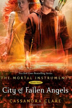 City of Fallen Angels -  Book 4, The Mortal Instruments Series - Cassandra Clare. Just bought this today, too! Can't wait to read it, but I have to finish City Of Glass first! ^.^