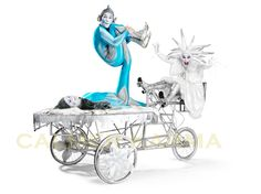 Christmas Party Entertainment to hire - acrobatic elves and Snow Queen on their very own special chariot http://www.calmerkarma.org.uk/Christmas-party-entertainment-ideas.htm Tel:  0203 602 9540