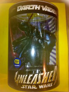 STAR WARS UNLEASHED BEST BUY EXCLUSIVE DARTH VADER by HASBRO (2005)