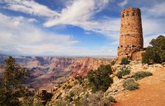 The Southwest is one of the nation's most picturesque, and underrated, regions. Just look at the Watchtower in the #GrandCanyon National Park. Worth a visit, no? (Image credit: © Tom Grundy/Alamy)