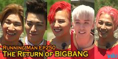 #BIGBANG is back. Watch the guys in the latest episode of #RunningMan