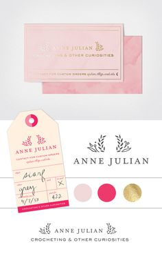 Anne Julian | branding by Imaginary Beast