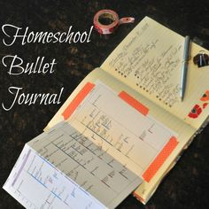 Homeschool Bullet Journal - how to get your paper journal to be digitally searchable