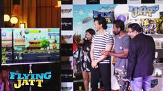 A Flying Jatt Game Launch - Tiger Shroff, Remo D'souza  - Bollywood Bakda