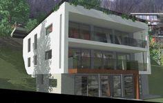 Monte Carasso: 3,5 Zimmer Neubau Wohnung an schöner Aussicht